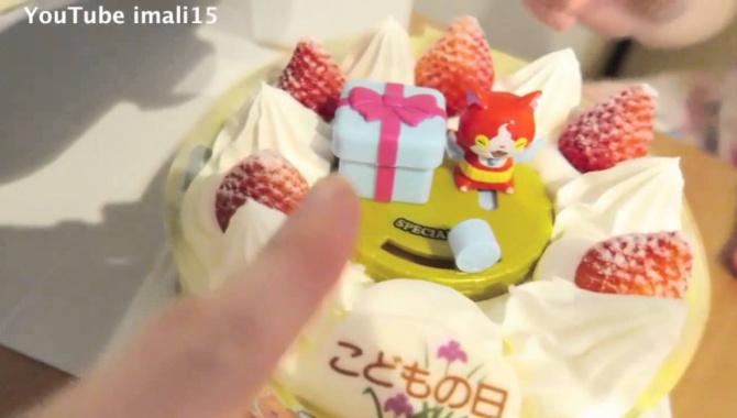 Торт с сюрпризом и Золотая карточка! (Видео)