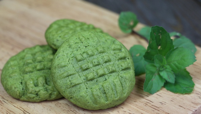 Мятное печенье - Видео-рецепт