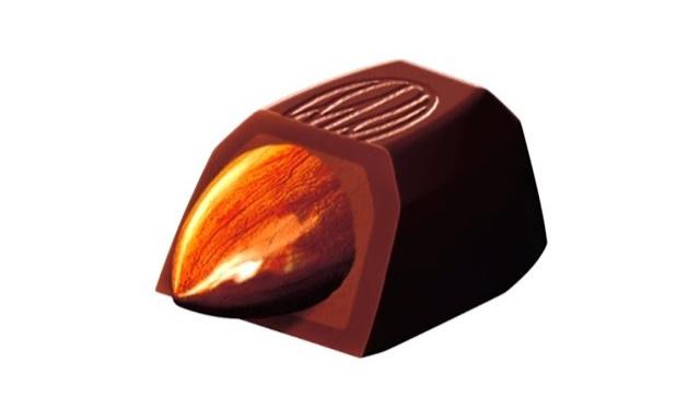 Этапы производства миндаля в шоколаде Glico Almond Peak (Видео)