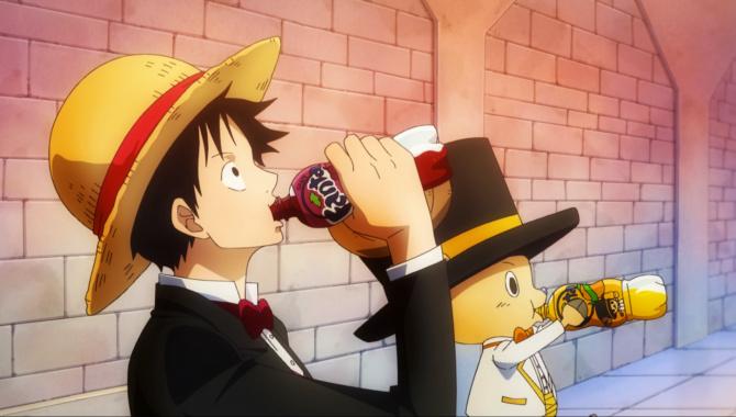 Японская Реклама - Fanta - One Piece