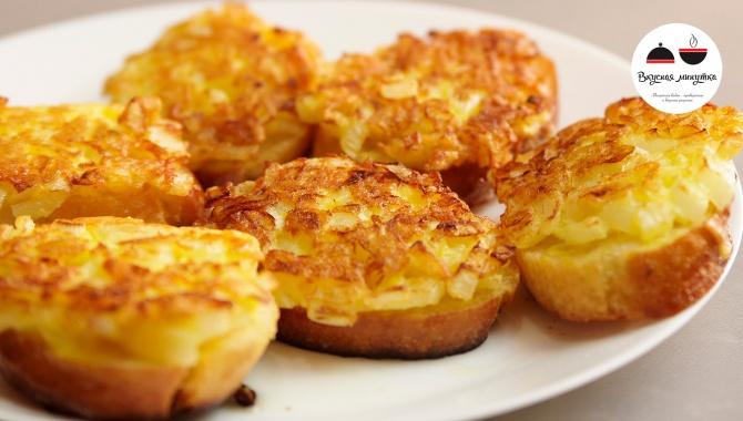 Горячие бутерброды с луком - Видео-рецепт