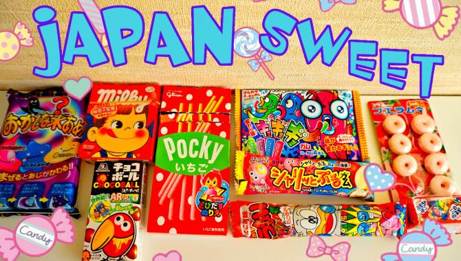 Пробуем японские вкусняшки - Видео