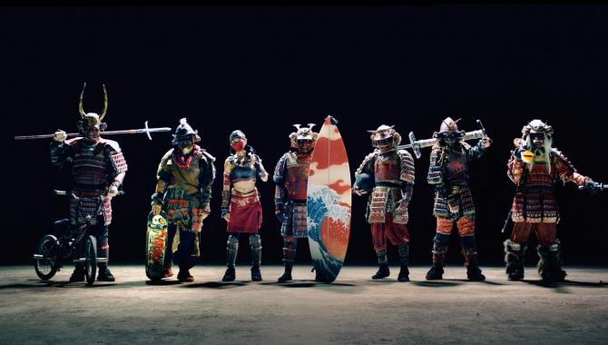 Японская Реклама - Nissin Cup Noodle - 7 Samurai