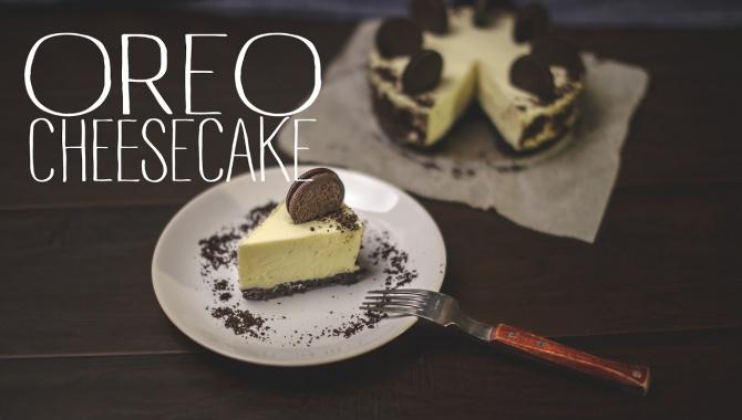 Орео чизкейк без выпечки - Видео-рецепт