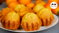 Мандариновые кексы - Видео-рецепт