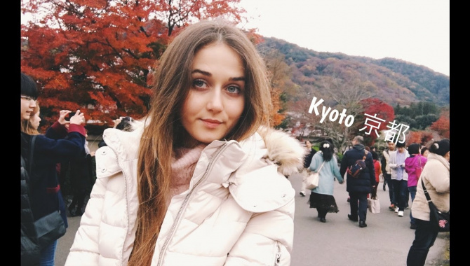 Little trip/Kyoto Japan/много храмов и еды/зеленый чай (Видео)