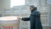 Японская Реклама - Nissin - CUP NOODLE - Final Fantasy XV