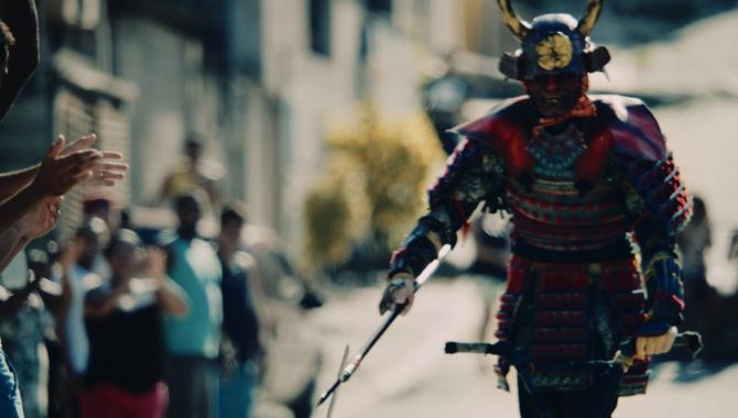 Японская Реклама - Nissin Cup Noodle - BMX