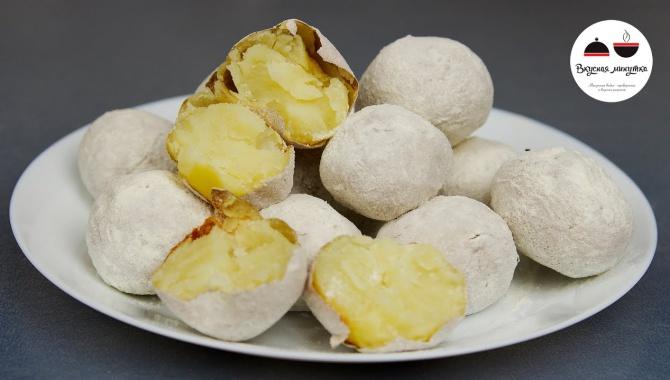 Печеная картошка как на костре - Видео-рецепт