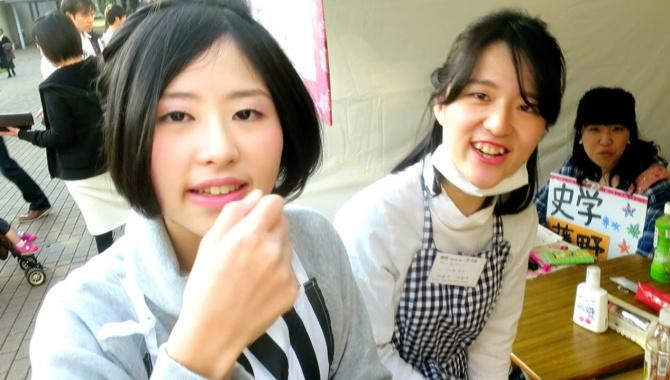 Японский женский универ. Совсем не то, что кажется (Видео)