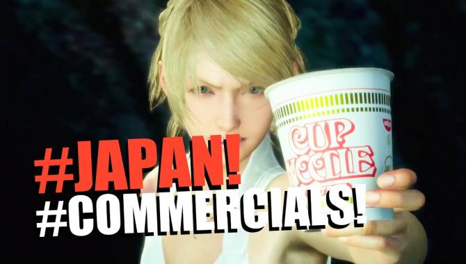 Свежая подборка смешной японской рекламы - VOL. 150