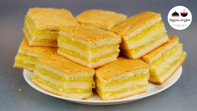 Пирожные с лимонно-апельсиновой начинкой - Видео-рецепт