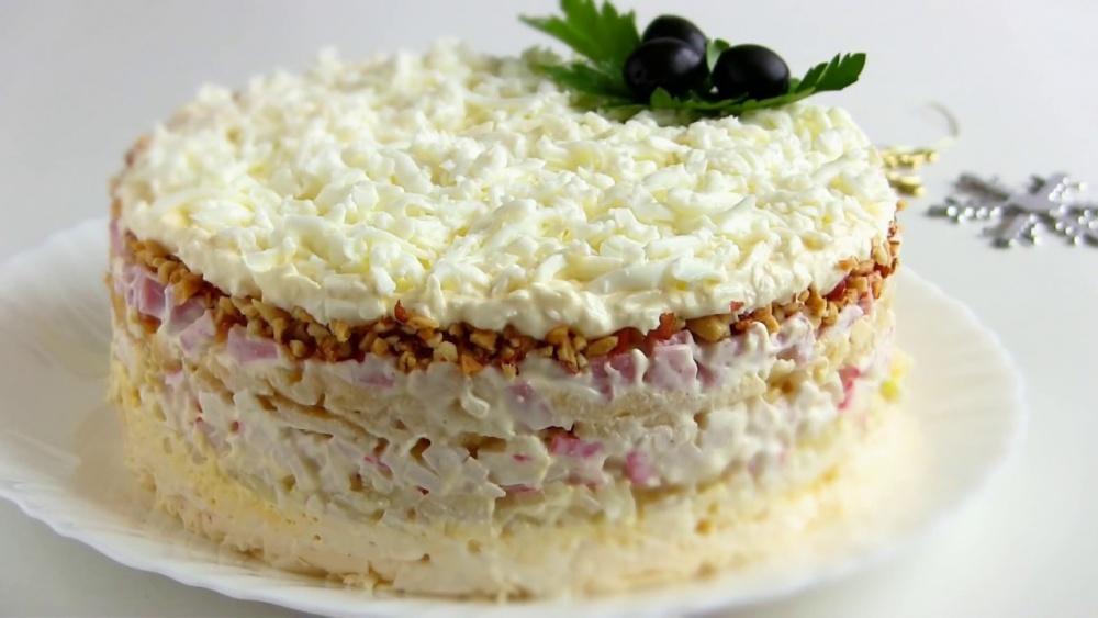 Рецепт салат снежная королева
