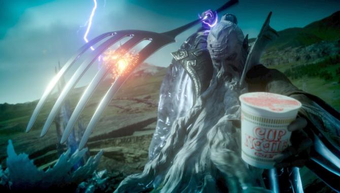Японская Реклама - Nissin Cup Noodle - CUP NOODLE XV