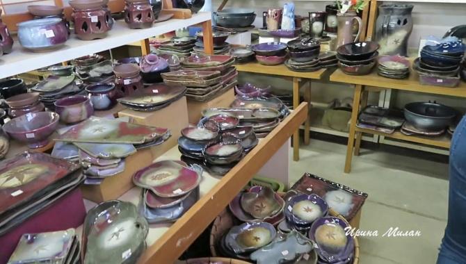 Японская посуда. Гуляем и смотрим (Видео)