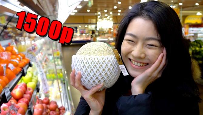 Япония. Шокирующие цены на овощи и фрукты в 2017 году (Видео)