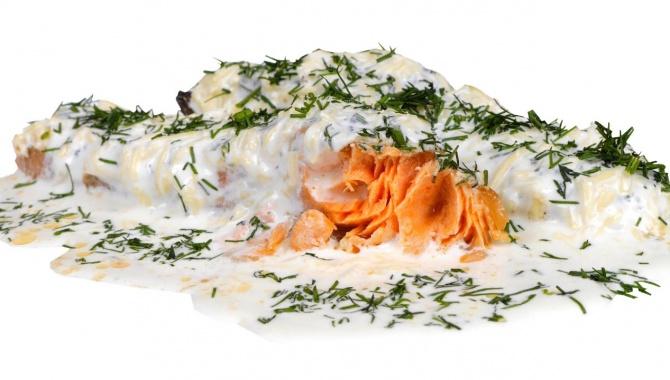 Красная рыба под соусом - Видео-рецепт