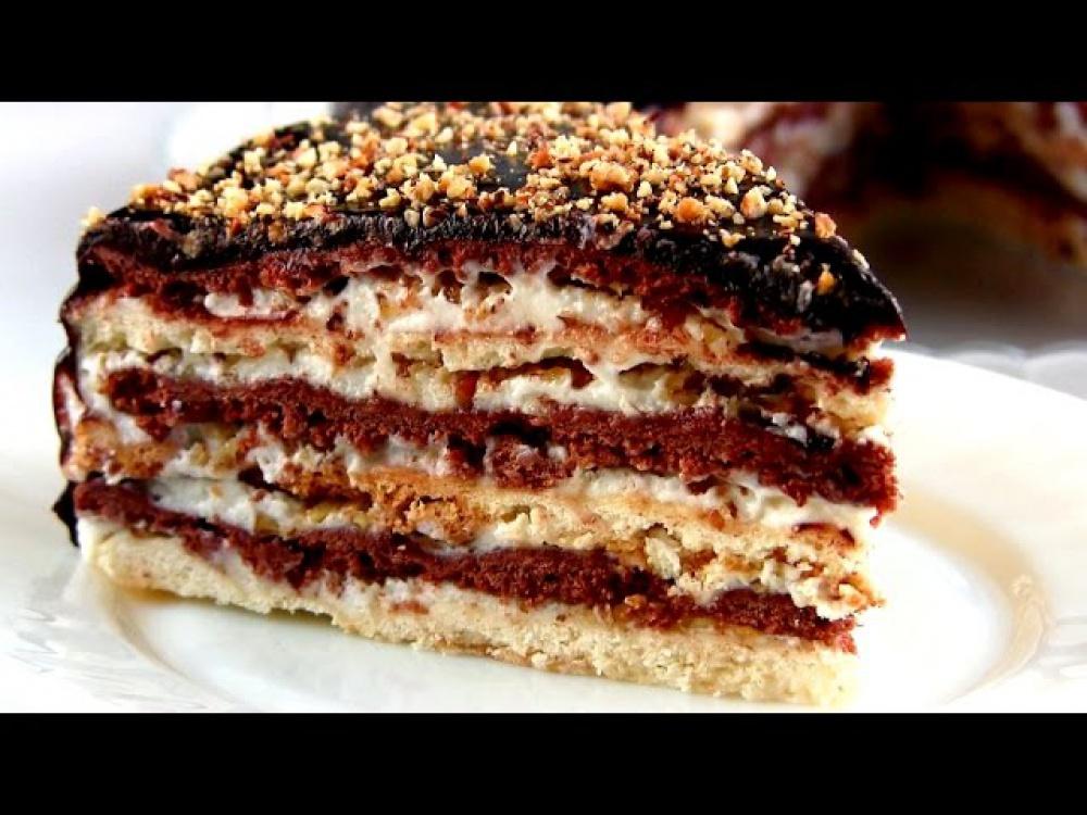 Рецепты тортов с фото пошагово в домашних условиях со сгущенкой
