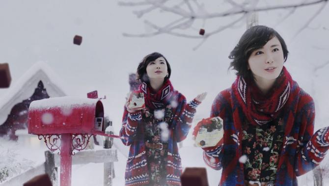 Японская Реклама - Meiji Meltykiss