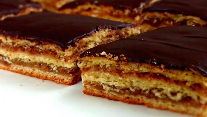 Пирог- торт с вареньем - Видео-рецепт