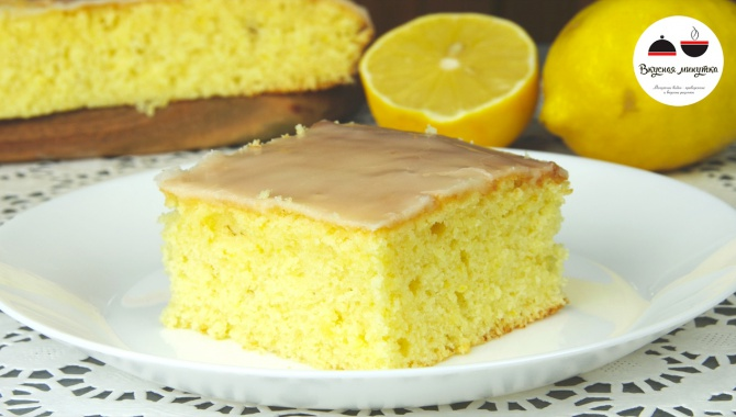 Лимонный пирог - Видео-рецепт