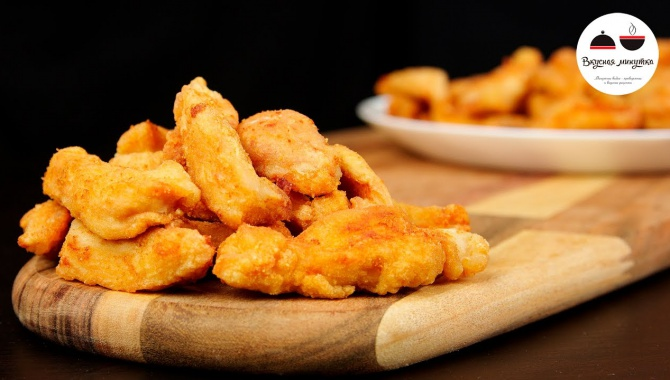 Невероятно вкусные кусочки куриного филе! (Видео-рецепт)
