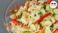 Теплый картофельный салат - Видео-рецепт