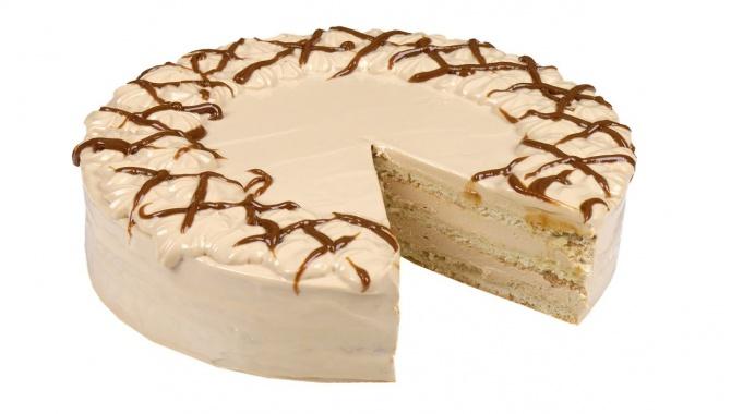 Торт Нежный - песочные коржи и творожно-карамельный крем