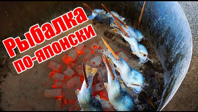 Рыбалка по-японски (Видео)