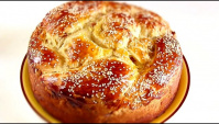 Пасхальный каравай/Вкусное Сдобное тесто - Видео-рецепт