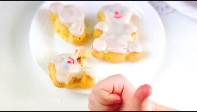 Кексы Мишки (Умка) - Видео-рецепт