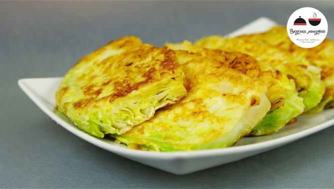 Закуска из молодой капусты - Видео-рецепт