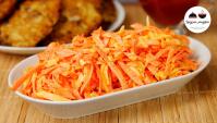 Салат из моркови - Видео-рецепт