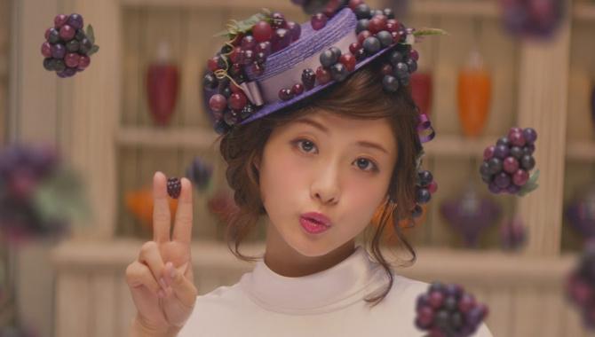 Японская Реклама - Конфеты Meiji Kajyu Gummy