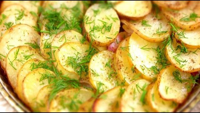 Вкусная картошка по-Украински в духовке - Видео-рецепт