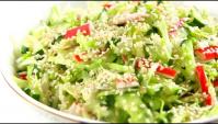 Салат с капустой Свежесть - Видео-рецепт