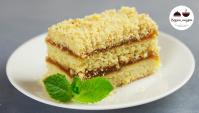 Песочное пирожное как в детстве - Видео-рецепт