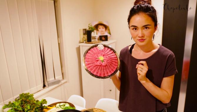Мраморное мясо - готовим якинику дома. Японская еда (Видео)
