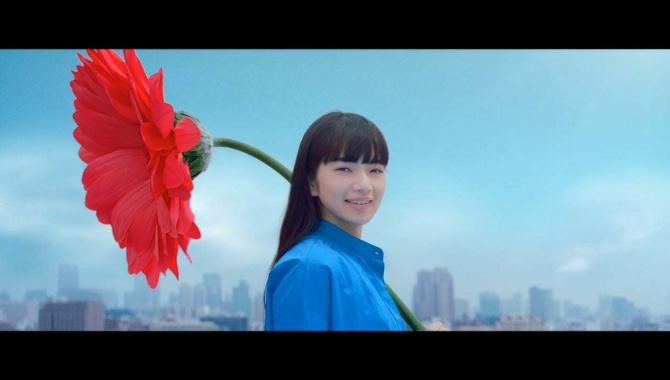 Японская Реклама - Вода Kirin - Hare to mizu