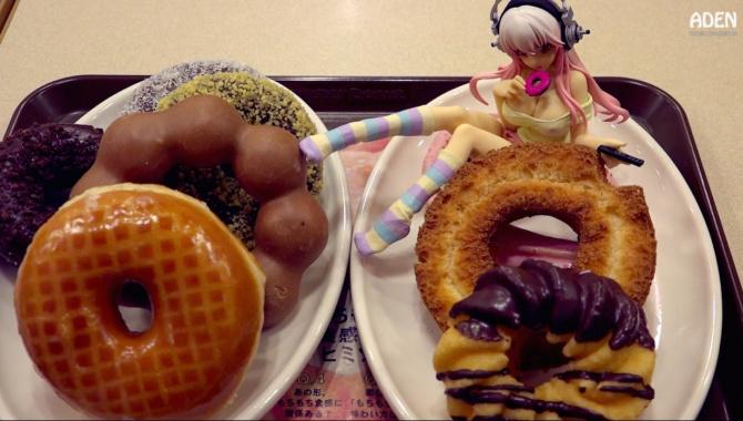 Пончики в Японии - Видео