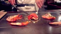 Лобстер - Теппаняки в Окинава (Видео)