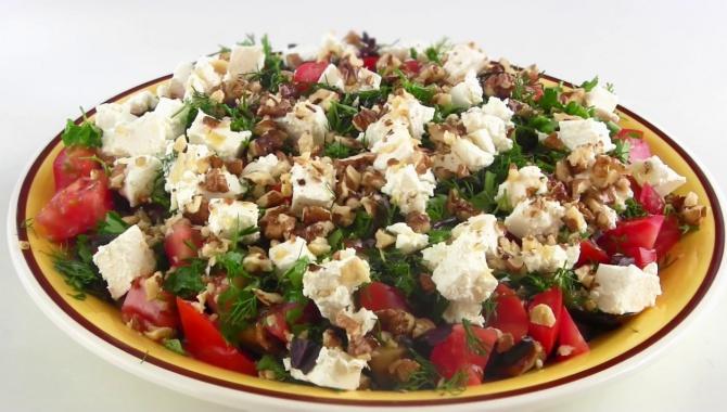 Вкусный летний салат из баклажанов - Видео-рецепт