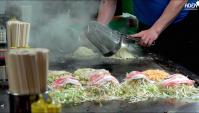 Окономияки в Хиросима - Видео