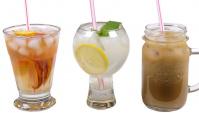 Три прохладных напитка: чай, лимонад, кофе (Видео)