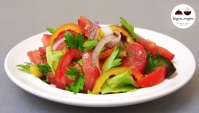 Овощной Салат Секрет - Видео-рецепт