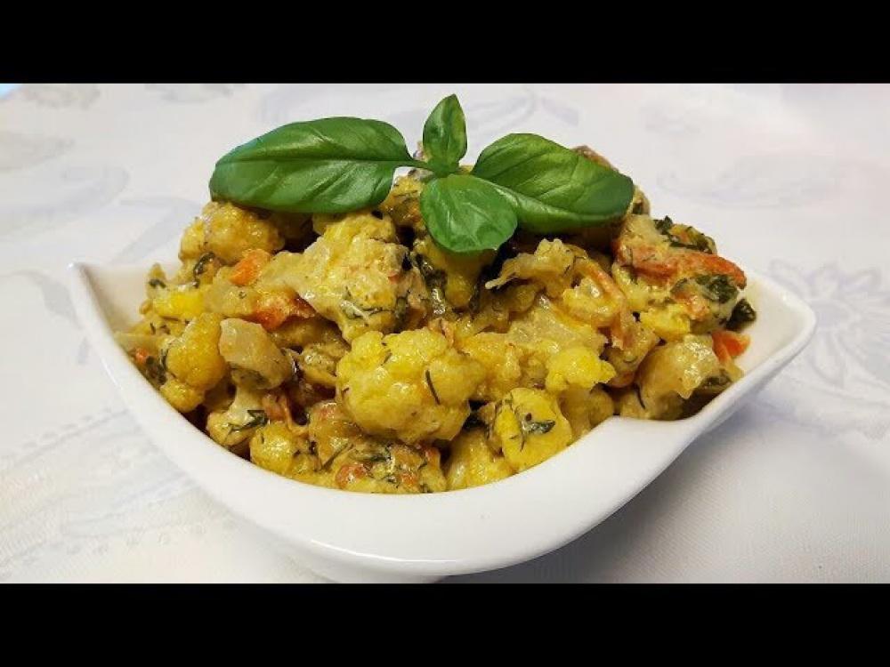 блюда из цветной свежей капусты