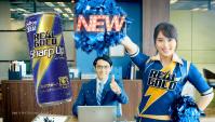 Японская Реклама - Энергетик REAL GOLD Sharp Up