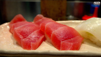 Суши бар в Японии (Видео)