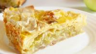 Яблочный пирог из лаваша - Видео-рецепт