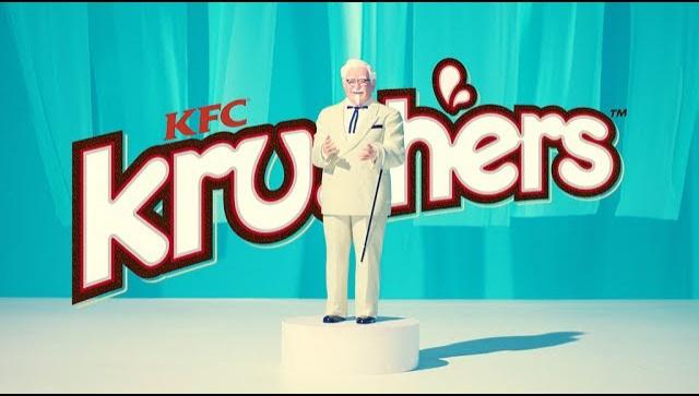 Японская Реклама - Напиток KFC Krushers